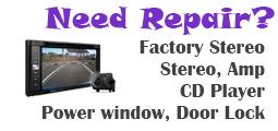 auto stereo repair